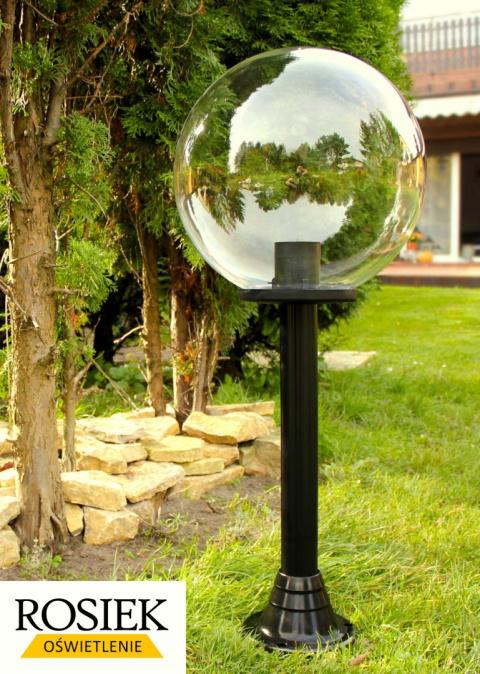 lampy ogrodowe kule stojace wysokosc 30 cm